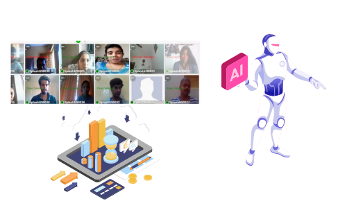 Advanced AI Facial Recognition Video Analytics for education